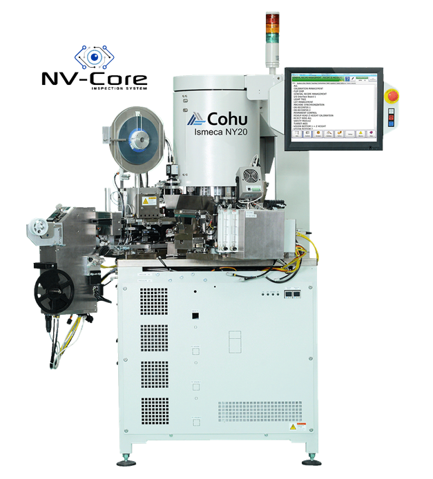 Cohu NY20 Turret Test and Scan Handler