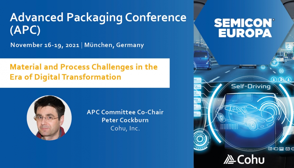 Cohu Semicon Europa Advanced Packaging Conference